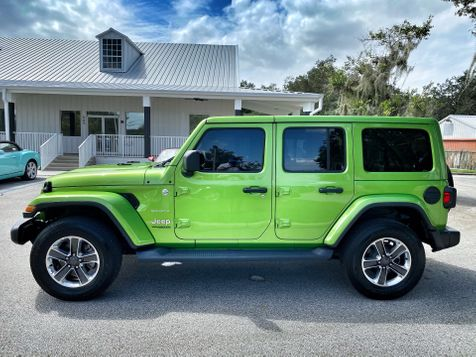 2020 Jeep Wrangler Unlimited MOJITO TURBO SAHARA LEATHER NAV ALPINE HARDTOP in Plant City, Florida