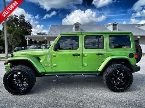 2020 Jeep Wrangler Unlimited MOJITO TURBO SAHARA LEATHER NAV ALPINE HARDTOP in Plant City, Florida