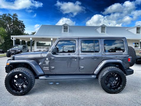 2020 Jeep Wrangler Unlimited TURBO CUSTOM LIFTED LEATHER NAV ALPINE HARDTOP in Plant City, Florida