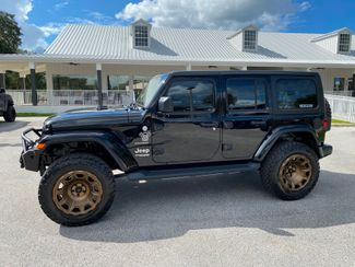 2020 Jeep Wrangler Unlimited BLACK N BRONZE SAHARA HARDTOP LEATHER LIFTED  Plant City Florida  Bayshore Automotive   in Plant City, Florida