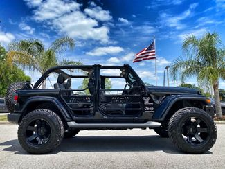 2020 Jeep Wrangler Unlimited BLACKOUT SAHARA HARDTOP LEATHER LIFTED  Plant City Florida  Bayshore Automotive   in Plant City, Florida