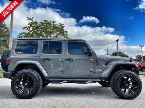 2020 Jeep Wrangler Unlimited STINGRAY CUSTOM LIFTED LEATHER NAV ALPINE in Plant City, Florida