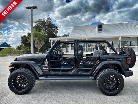2020 Jeep Wrangler Unlimited CUSTOM LIFTED TURBO SAHARA LEATHER NAV ALPINE in Plant City, Florida