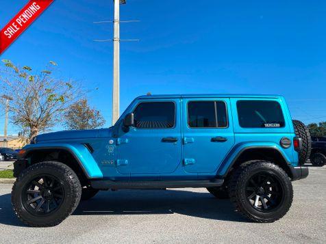 2020 Jeep Wrangler Unlimited BIKINI TURBO SAHARA LEATHER NAV ALPINE HARDTOP in Plant City, Florida