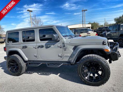 2020 Jeep Wrangler Unlimited STINGRAY TURBO SAHARA LIFTED LEATHER NAV ALPINE in Plant City, Florida