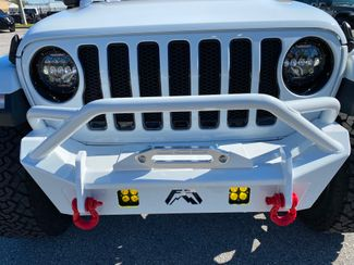2020 Jeep Wrangler Unlimited WHITE N RED TURBO SAHARA LEATHER NAV FAB FOUR  Plant City Florida  Bayshore Automotive   in Plant City, Florida