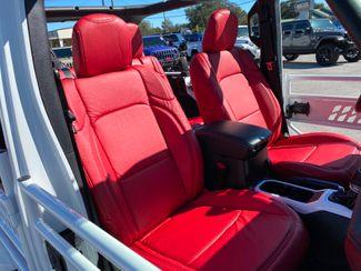 2020 Jeep Wrangler Unlimited WHITE N RED TURBO SAHARA LEATHER NAV FAB FOUR  Plant City Florida  Bayshore Automotive   in Plant City, Florida