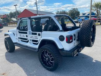 2020 Jeep Wrangler Unlimited WHITEOUT TURBO SAHARA CUSTOM LIFTED LEATHER NAV  Plant City Florida  Bayshore Automotive   in Plant City, Florida