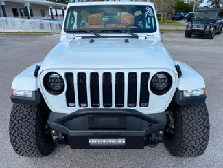 2020 Jeep Wrangler Unlimited CUSTOM LIFTED SAHARA TURBO LEATHER NAV ALPINE  Plant City Florida  Bayshore Automotive   in Plant City, Florida
