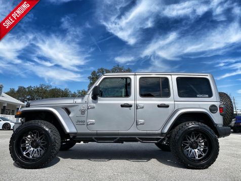 2020 Jeep Wrangler Unlimited SAHARA CUSTOM LIFTED LEATHER NAV ALPINE HARDTOP in Plant City, Florida