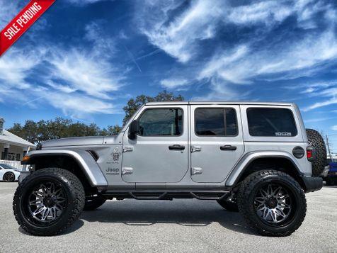 2020 Jeep Wrangler Unlimited SAHARA CUSTOM LIFTED LEATHER NAV ALPINE HARDTOP in Plant City, Florida
