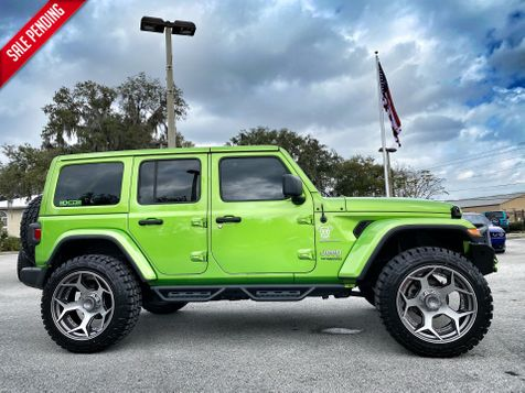 2020 Jeep Wrangler Unlimited MOJITO TURBO SAHARA LEATHER 35