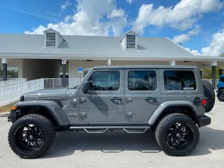 2020 Jeep Wrangler Unlimited CUSTOM LIFTED LEATHER AND STINGRAY LEATHER NAV  Plant City Florida  Bayshore Automotive   in Plant City, Florida