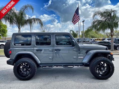 2020 Jeep Wrangler Unlimited CUSTOM LIFTED LEATHER AND STINGRAY LEATHER NAV in Plant City, Florida