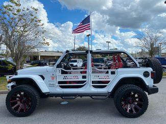 2020 Jeep Wrangler Unlimited CUSTOM LIFTED SAHARA HARDTOP LEATHER  Plant City Florida  Bayshore Automotive   in Plant City, Florida