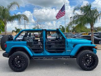 2020 Jeep Wrangler Unlimited BIKINI TURBO SAHARAHARDTOPLEATHERNAVALPINE   Plant City Florida  Bayshore Automotive   in Plant City, Florida