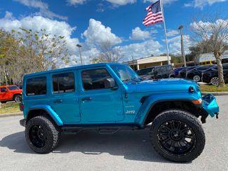 2020 Jeep Wrangler Unlimited CUSTOM BIKINI SAHARA TURBO HARDTOP LEATHER NAV  Plant City Florida  Bayshore Automotive   in Plant City, Florida