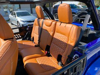 2020 Jeep Wrangler Unlimited OCEAN BLUE CUSTOM LIFTED SAHARA HARDTOP NAV  Plant City Florida  Bayshore Automotive   in Plant City, Florida