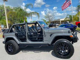 2020 Jeep Wrangler Unlimited STINGRAY CUSTOM LIFTED TURBO SAHARA NAV ALPINE  Plant City Florida  Bayshore Automotive   in Plant City, Florida