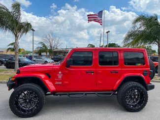 2020 Jeep Wrangler Unlimited CUSTOM LIFTED TURBO SAHARA NAV ALPINE OCD4X4  Plant City Florida  Bayshore Automotive   in Plant City, Florida