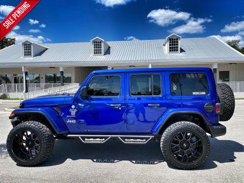 2020 Jeep Wrangler Unlimited CUSTOM LIFTED OCEAN BLUE LEATHER NAV 35