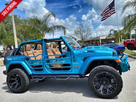 2020 Jeep Wrangler Unlimited BIKINI TURBO SAHARA LIFTED LEATHER NAV ALPINE in Plant City, Florida