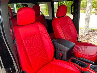 2020 Jeep Wrangler Unlimited CUSTOM BLACK WIDOW SAHARA HARDTOP LEATHER 35s  Plant City Florida  Bayshore Automotive   in Plant City, Florida
