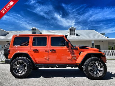 2020 Jeep Wrangler Unlimited CUSTOM LIFTED LEATHER SAHARA NAV HARDTOP ALPINE in Plant City, Florida
