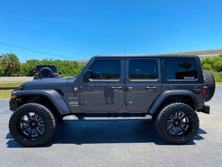 2020 Jeep Wrangler Unlimited CUSTOM LIFTED SAHARA LEATHER HARDTOP 35s   Florida  Bayshore Automotive   in , Florida