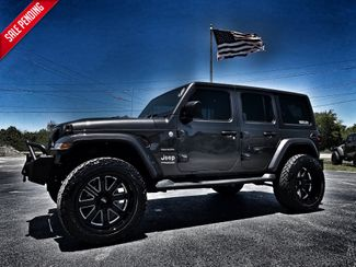 2020 Jeep Wrangler Unlimited CUSTOM LIFTED SAHARA LEATHER HARDTOP 35s  Plant City Florida  Bayshore Automotive   in Plant City, Florida