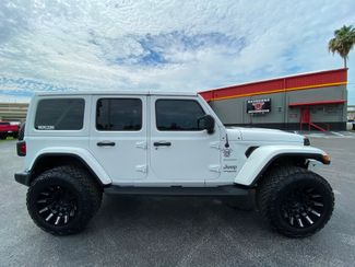 2020 Jeep Wrangler Unlimited SAHARA WHITE-OUT CUSTOM LIFTED LEATHER NAV   Florida  Bayshore Automotive   in , Florida