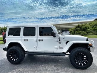 2020 Jeep Wrangler Unlimited SAHARA WHITE-OUT CUSTOM LIFTED LEATHER NAV  Plant City Florida  Bayshore Automotive   in Plant City, Florida