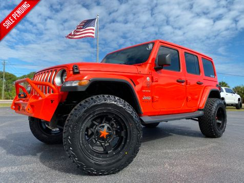2020 Jeep Wrangler Unlimited CUSTOM SAHARA LEATHER FAB FOUR DV8 OCD TURBO in , Florida