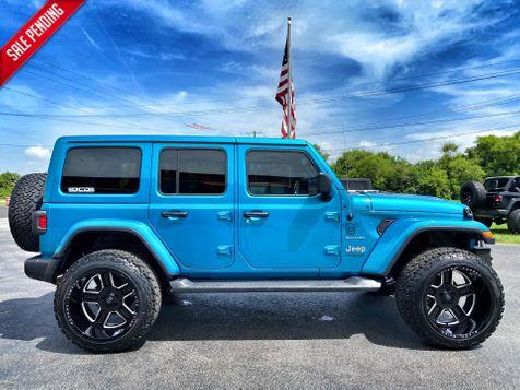 2020 Jeep Wrangler Unlimited CUSTOM BIKINI SAHARA HARDTOP LEATHER  in Plant City, Florida