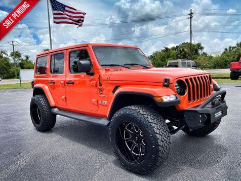 2020 Jeep Wrangler Unlimited Sahara in Plant City, Florida