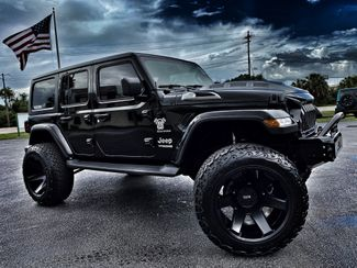 2020 Jeep Wrangler Unlimited CUSTOM LIFTED LEATHER NAV ALPINE HARDTOP   Plant City Florida  Bayshore Automotive   in Plant City, Florida