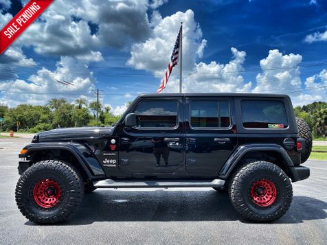 2020 Jeep Wrangler Unlimited BACK WIDOW CUSTOM SAHARA NAV LEATHER ALPINE in Plant City, Florida