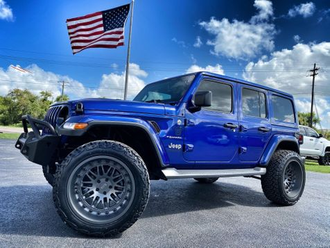 2020 Jeep Wrangler Unlimited OCEAN CUSTOM LIFTED LEATHER NAV ALPINE HARDTOP in Plant City, Florida