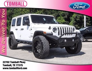 2020 Jeep Wrangler Unlimited Sahara in Tomball, TX 77375