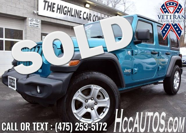 2020 Jeep Wrangler Unlimited Sport S Waterbury, Connecticut