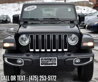 2020 Jeep Wrangler Unlimited Sahara Waterbury, Connecticut 7