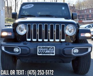 2020 Jeep Wrangler Unlimited Sahara Waterbury, Connecticut 8