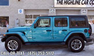 2020 Jeep Wrangler Unlimited Sahara Waterbury, Connecticut 2