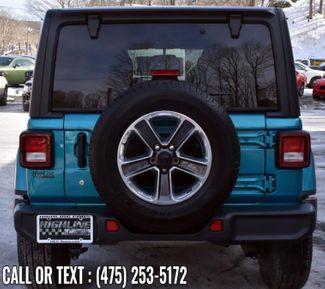 2020 Jeep Wrangler Unlimited Sahara Waterbury, Connecticut 4