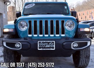2020 Jeep Wrangler Unlimited Sahara Waterbury, Connecticut 8