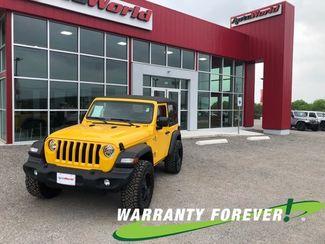 2020 Jeep Wrangler Sport in Uvalde, TX 78801