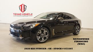 2020 Kia Stinger GT-Line AUTO,BACK-UP CAM,HTD LTH,6K,WE FINANCE in Carrollton, TX 75006
