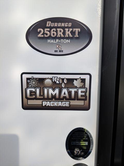 2020 Kz Durango Half Ton D256RKT Mandan, North Dakota 2