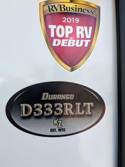 2020 Kz Durango D333RLT Mandan, North Dakota 2