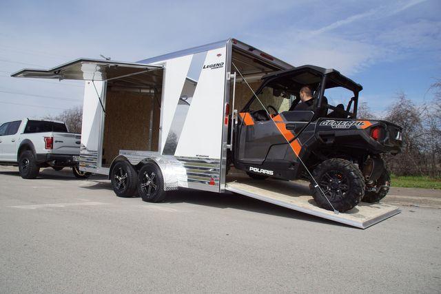 2020 Legend 7x17 Deluxe V-Nose W/ Escape Door in Fort Worth, TX 76111